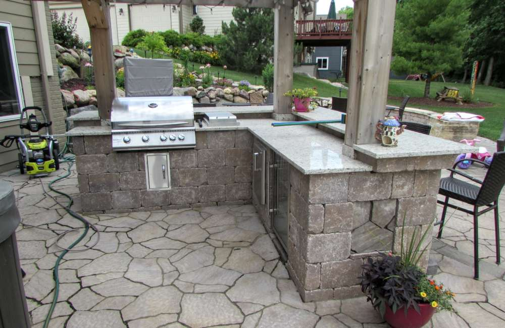Outdoor Grill Project In Des Moines, IA